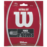 Wilson Natural Gut 16 Tennis String (Natural) - RacquetGuys