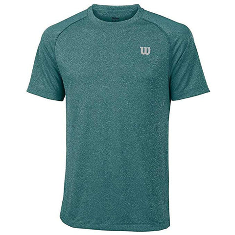 Wilson Mens Core Top (Deep Lake/Tropic Green) - RacquetGuys