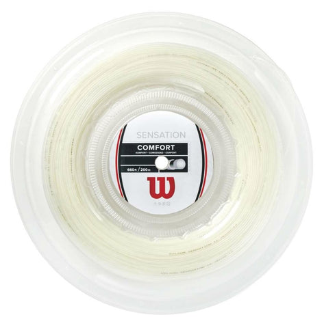 Wilson Sensation 16 Tennis String Reel (Natural) - RacquetGuys
