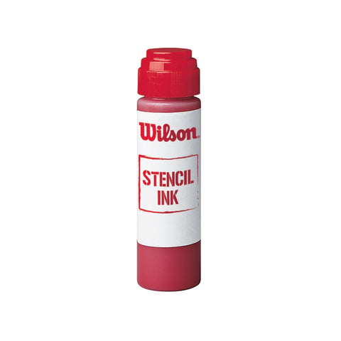 Wilson Stencil Ink (Red) - RacquetGuys