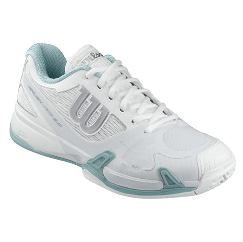 Wilson Rush Pro 2.0 Women's Tennis Shoe (White/Ice Gray)