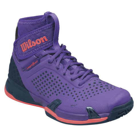 Wilson Amplifeel Women's Tennis Shoe (Purple/Coral) - RacquetGuys
