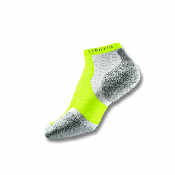 Thorlo Experia Micro-Mini Unisex Sock (Electric Yellow) - RacquetGuys
