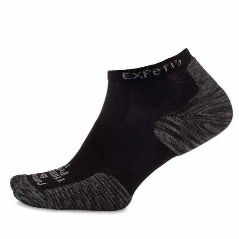 Thorlo Experia Micro-Mini Unisex Sock (Black) - RacquetGuys
