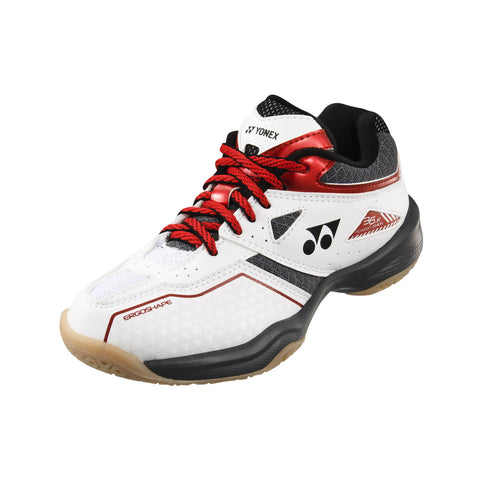 Yonex Power Cushion 36 Junior Indoor Court Shoe (White/Red) - RacquetGuys.ca