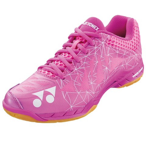 Yonex Power Cushion Aerus 2 Women's Indoor Court Shoe (Pink) - RacquetGuys