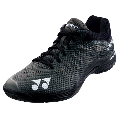 Yonex Power Cushion Aerus 3 Men's Indoor Court Shoe (Black) - RacquetGuys.ca