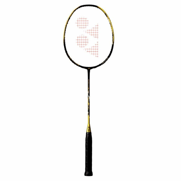Yonex NanoFlare 700 Limited Edition Badminton Racquet (Black/Gold) - RacquetGuys