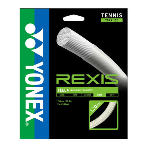 Yonex Rexis 16 Multifilament Poly Tennis String (Natural) - RacquetGuys