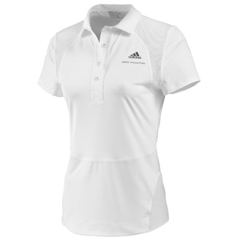 adidas Women's Barricade by Stella McCartney Polo (White)
