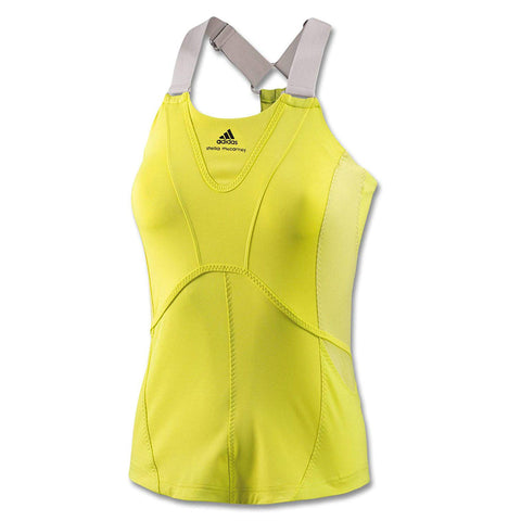 adidas Women's Barricade by Stella McCartney Tank Top (Run Yellow/Powder Tank)