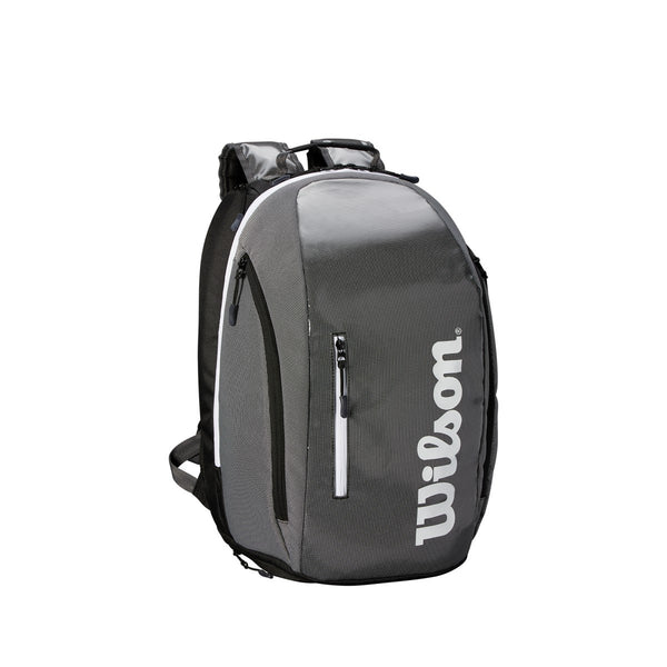 Wilson Super Tour Backpack Racquet Bag (Grey/Black)