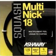 Ashaway MultiNick 18 Squash String (Black) - RacquetGuys