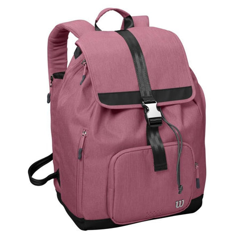 Wilson Women's Fold Over Backpack Racquet Bag (Pink) - RacquetGuys.ca