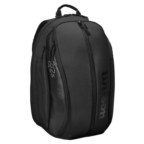 Wilson RF DNA Backpack Racquet Bag (Black) - RacquetGuys.ca