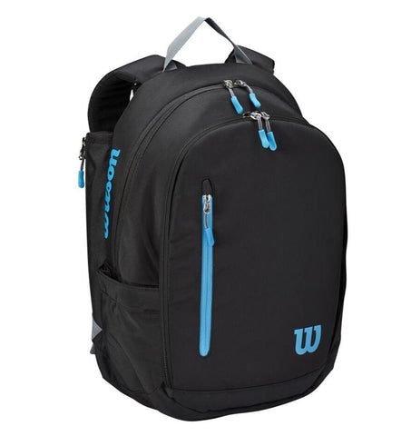 Wilson Ultra Backpack Racquet Bag (Black/Blue/Silver) - RacquetGuys