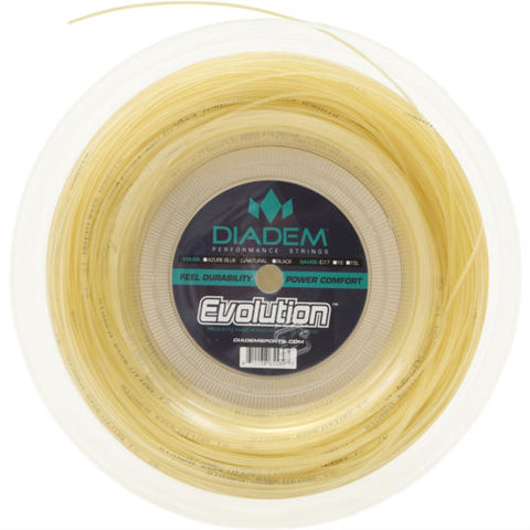 Diadem Evolution 17 Tennis String Reel (Natural) - RacquetGuys.ca