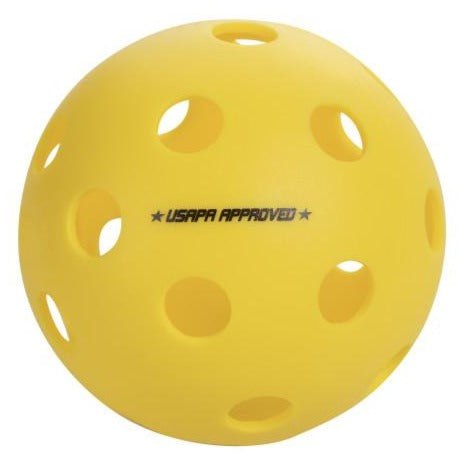 ONIX Fuse Indoor Pickleball Ball 100-Pack (Yellow) - RacquetGuys