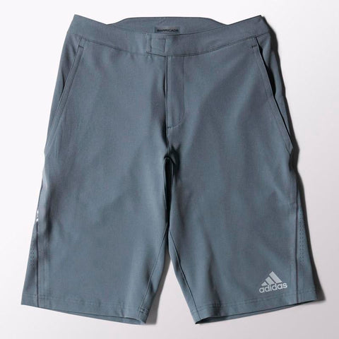 adidas Men's Barricade Bermuda Shorts (Dark Grey) - RacquetGuys