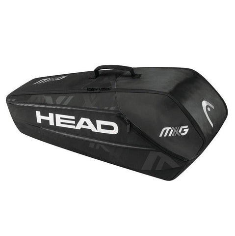 Head MXG Combi 6 Pack Racquet Bag (Black) - RacquetGuys