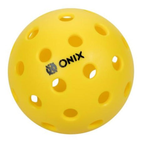 ONIX Pure 2 Outdoor Pickleball 100-Pack (Yellow) - RacquetGuys