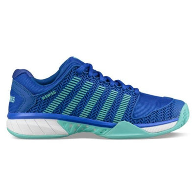 K-Swiss Hypercourt Express Womens Tennis Shoe (Blue/Aruba)