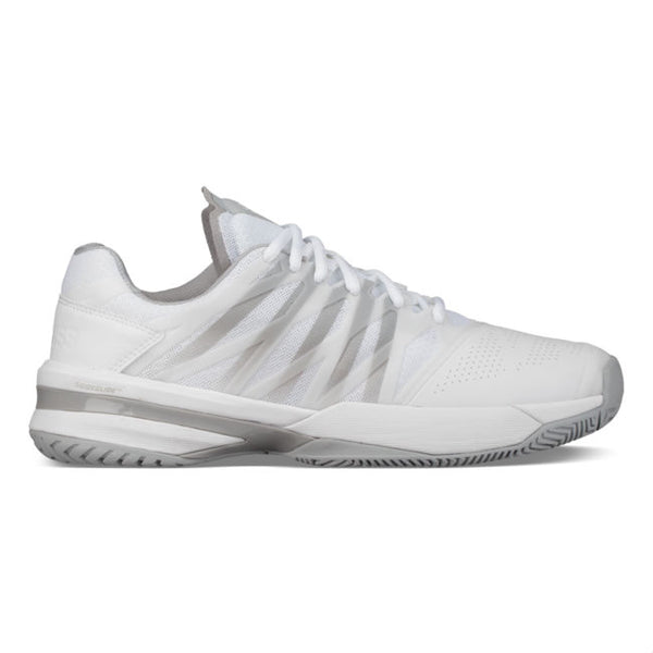 K-Swiss Ultrashot Womens Tennis Shoe (White/High Rise) - RacquetGuys