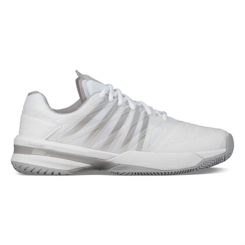 K-Swiss Ultrashot Men's Tennis Shoe (White/High Rise) - RacquetGuys.ca