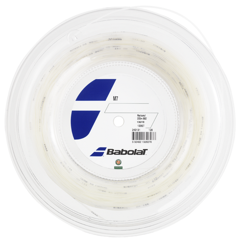 Babolat M7 16 Tennis String Reel (Natural) - RacquetGuys.ca