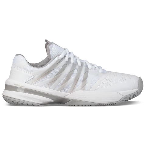 K-Swiss Ultrashot 2 Women's Tennis Shoe (White/Highrise) - RacquetGuys