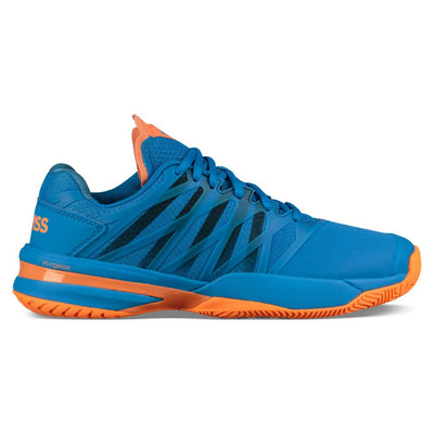 K-Swiss Ultrashot 2 Men's Tennis Shoe (Brilliant Blue/Neon Orange)