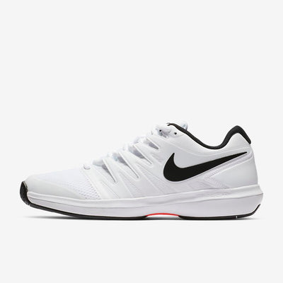 Nike Air Zoom Prestige Men's Tennis Shoe (White/Black/Red)