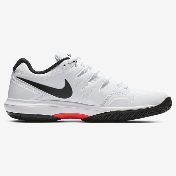 Nike Air Zoom Prestige Men's Tennis Shoe (White/Black/Red) - RacquetGuys