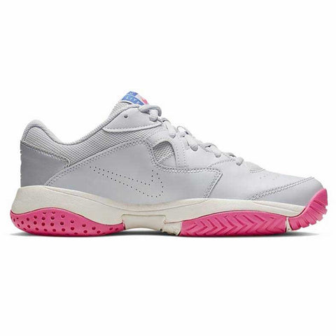 Nike Court Lite 2 Women's Tennis Shoe (Pure Platinum/Racer Blue) - RacquetGuys.ca