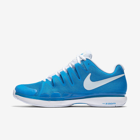 Nike Zoom Vapor 9.5 Tour Men's Tennis Shoe (Blue/White) - RacquetGuys