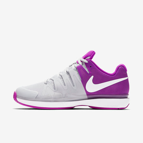 Nike Air Zoom Vapor 9.5 Tour Women's Tennis Shoe (Purple/Grey/White)