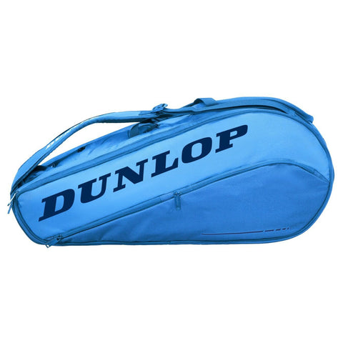 Dunlop CX Team 8 Pack Racquet Bag (Blue) - RacquetGuys