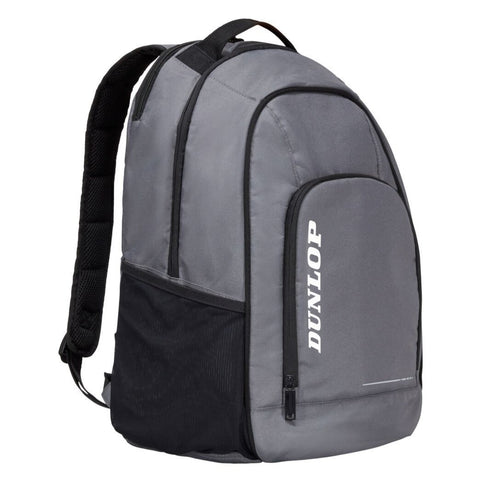 Dunlop CX Team Backpack Racquet Bag (Grey) - RacquetGuys