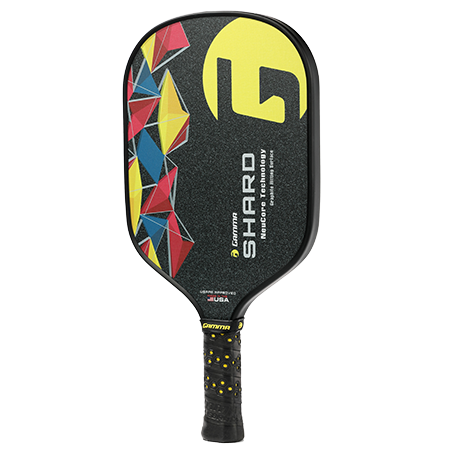 Gamma Shard NeuCore Pickleball Paddle (Yellow) - RacquetGuys.ca