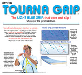 Tourna Grip Original XL Overgrip 3 Pack (Blue) - RacquetGuys