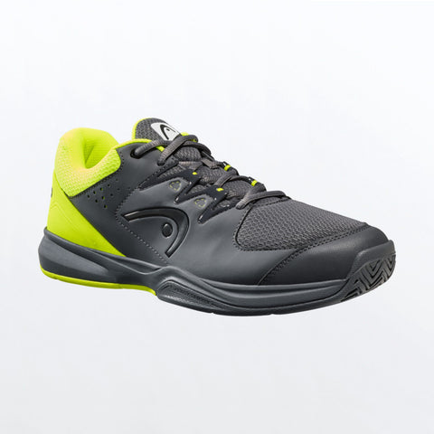 Head Brazer 2.0 Men's Tennis Shoe (Black/Yellow) - RacquetGuys