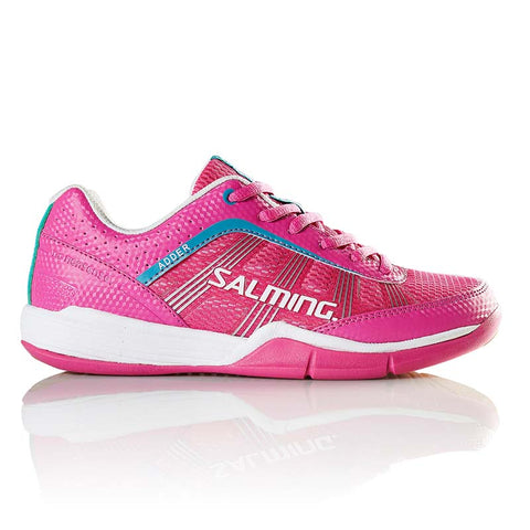 Salming Adder Women's Indoor Court Shoe (Pink) - RacquetGuys