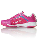 Salming Adder Womens Indoor Court Shoe (Pink) - RacquetGuys