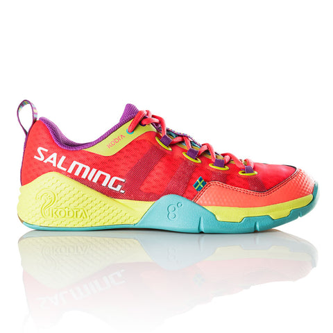 Salming Kobra Womens Indoor Court Shoe (Pink) - RacquetGuys.ca