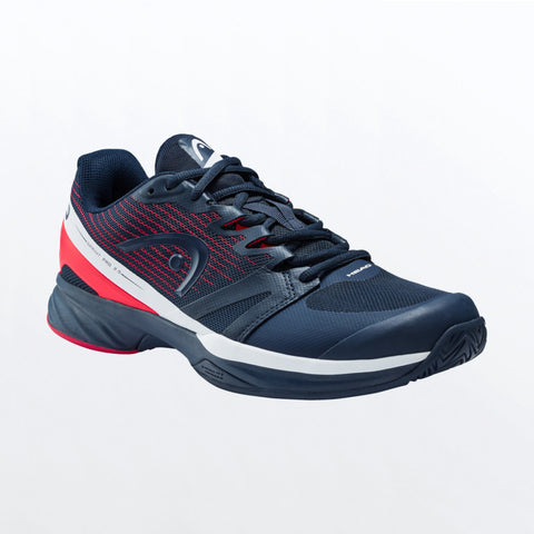 Head Sprint Pro 2.5 Men's Tennis Shoes (Blue/Red) - RacquetGuys