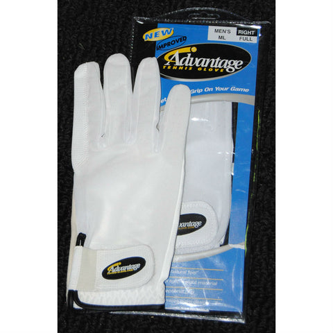 Advantage Tennis Glove Full Finger Left Mens - RacquetGuys