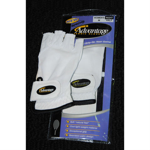 Advantage Tennis Glove Half Finger Left Womens - RacquetGuys