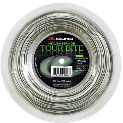 Solinco Tour Bite 20 Tennis String Reel (Silver)