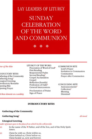 Sunday Celebration of the Word and Communion - Liturgy Brisbane