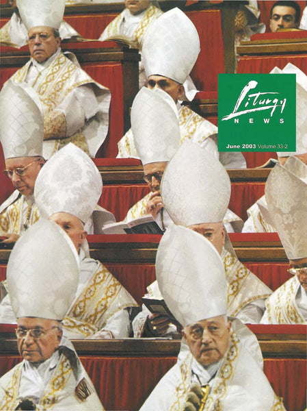 Liturgy News 2003 June Download - Liturgy Brisbane
